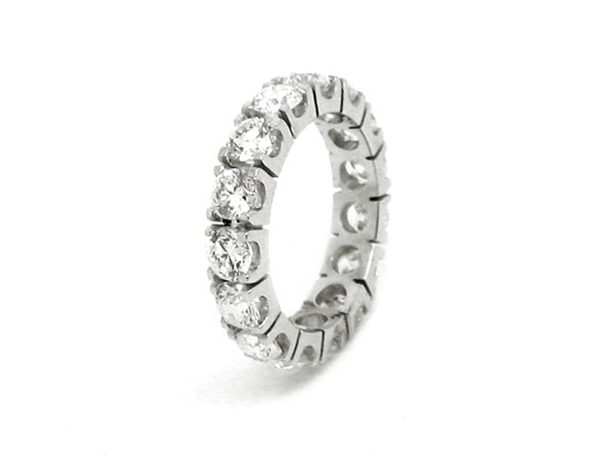 Ref: X7376A 18 K Gold White Gold+Diamond 15 Diamonds- 3.500 ct Weight: 4.10 gms Price: 13.100€