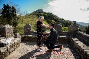 Fairytale Proposal in a Castle Package