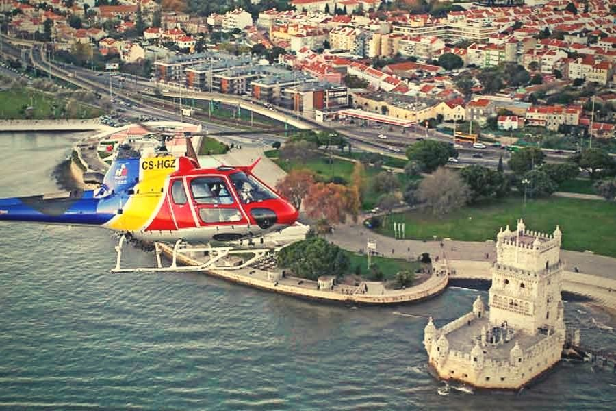 Incredible Helicopter Proposal Package in Portugal