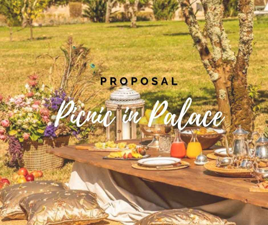 Picnic Marriage Proposal in Portugal