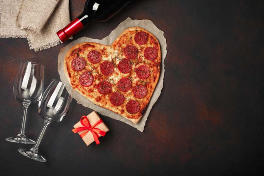 Pizza Marriage Proposal Package