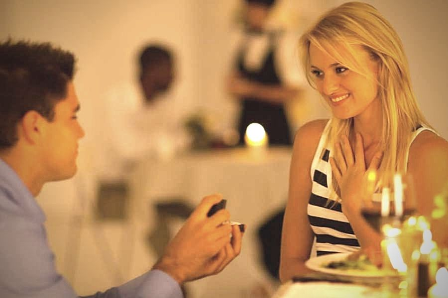 Romantic Dinner Proposal Package