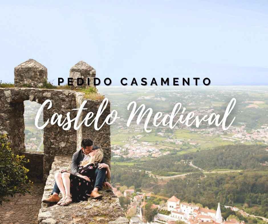 Pacote Pedido de Casamento num Castelo Medieval