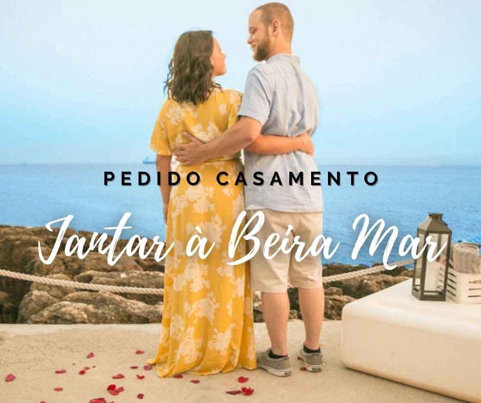 Pacote Pedido Casamento à Beira Mar