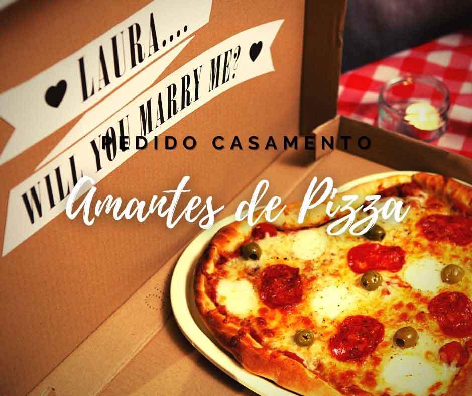 Pacote Pedido Casamento Pizza