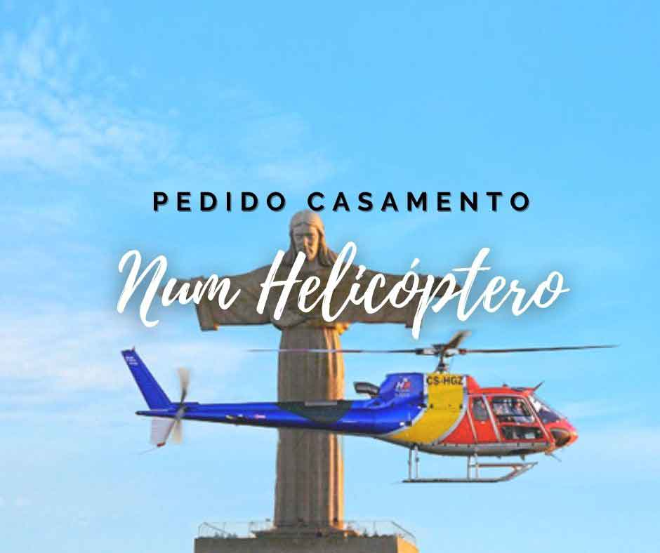 Pacote Pedido de Casamento num Helicóptero